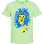 Κοντομάνικη μπλούζα βεραμάν Lion