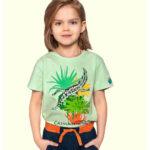 Κοντομάνικη μπλούζα βεραμάν Chameleon