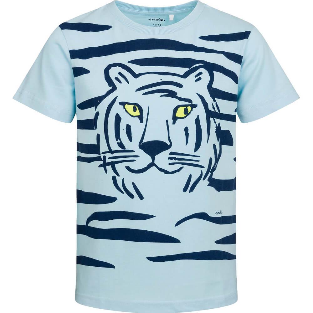 Κοντομάνικη μπλούζα γαλάζια Tiger