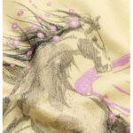 Κοντομάνικη μπλούζα κίτρινη Pegasus