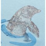 Κοντομάνικη μπλούζα γαλάζια Dolphin