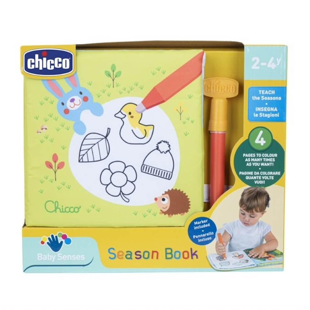 Μαγικό βιβλίο ζωγραφικής Season Book, Chicco