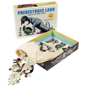 Φωσφορίζον παζλ Prehistoric Land,rex london