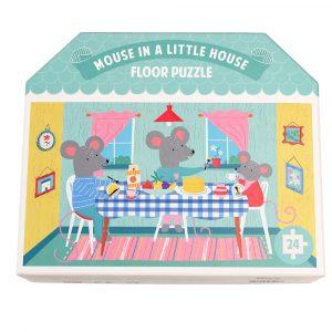 Παζλ Δαπέδου Mouse In A House, rex london