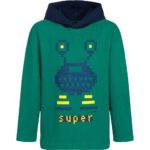 Μπλούζα hoodie πράσινη Super