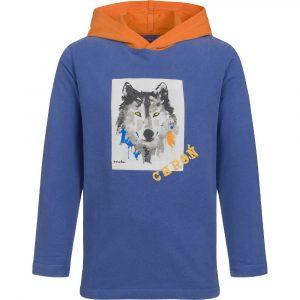 Μπλούζα hoodie Λύκος