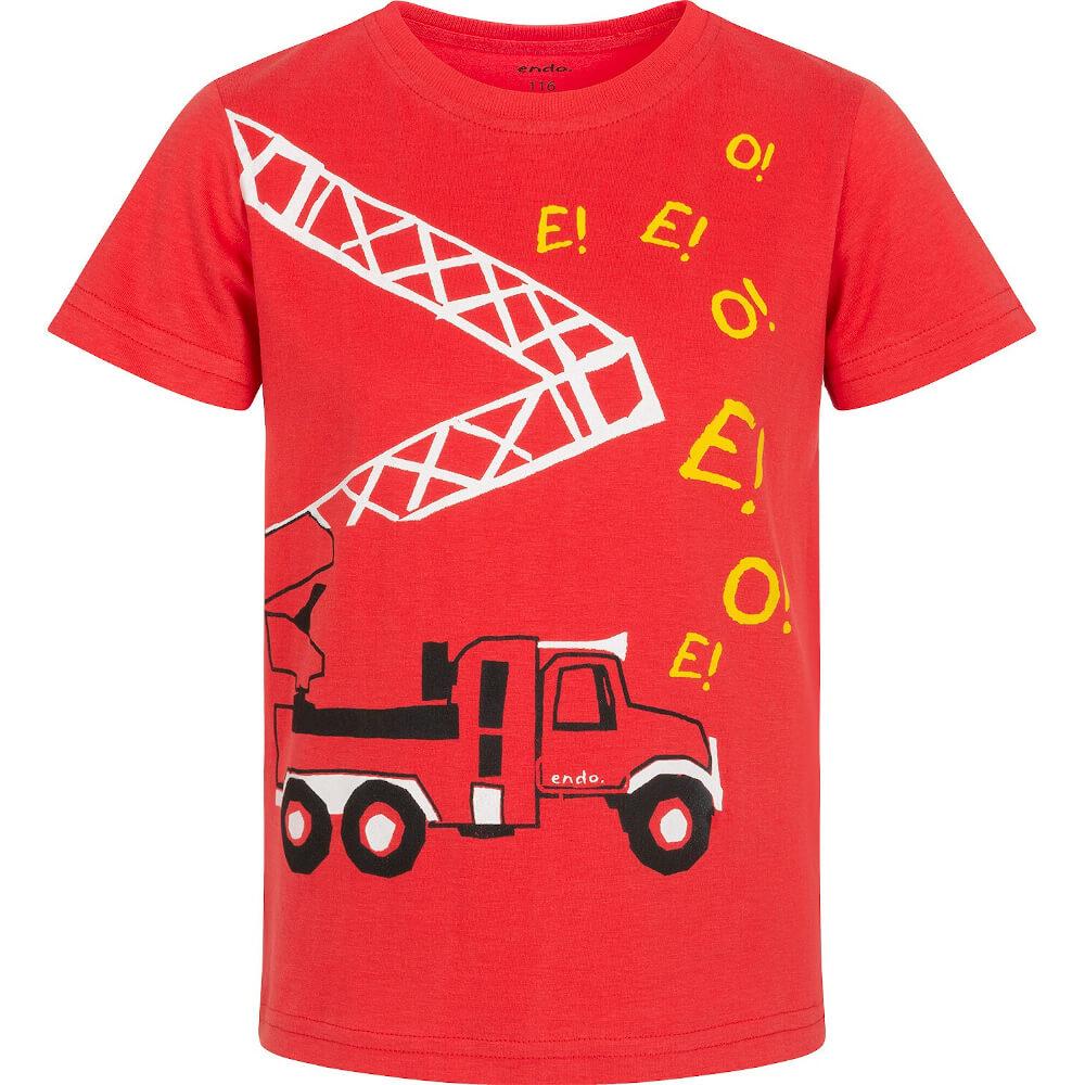Κοντομάνικη μπλούζα Fire truck