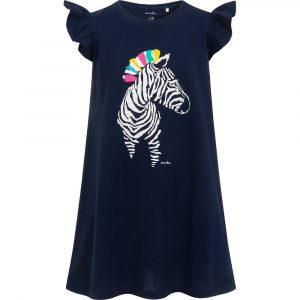 Κοντομάνικο φόρεμα blue Zebra