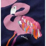Αμάνικο φόρεμα Flamingos