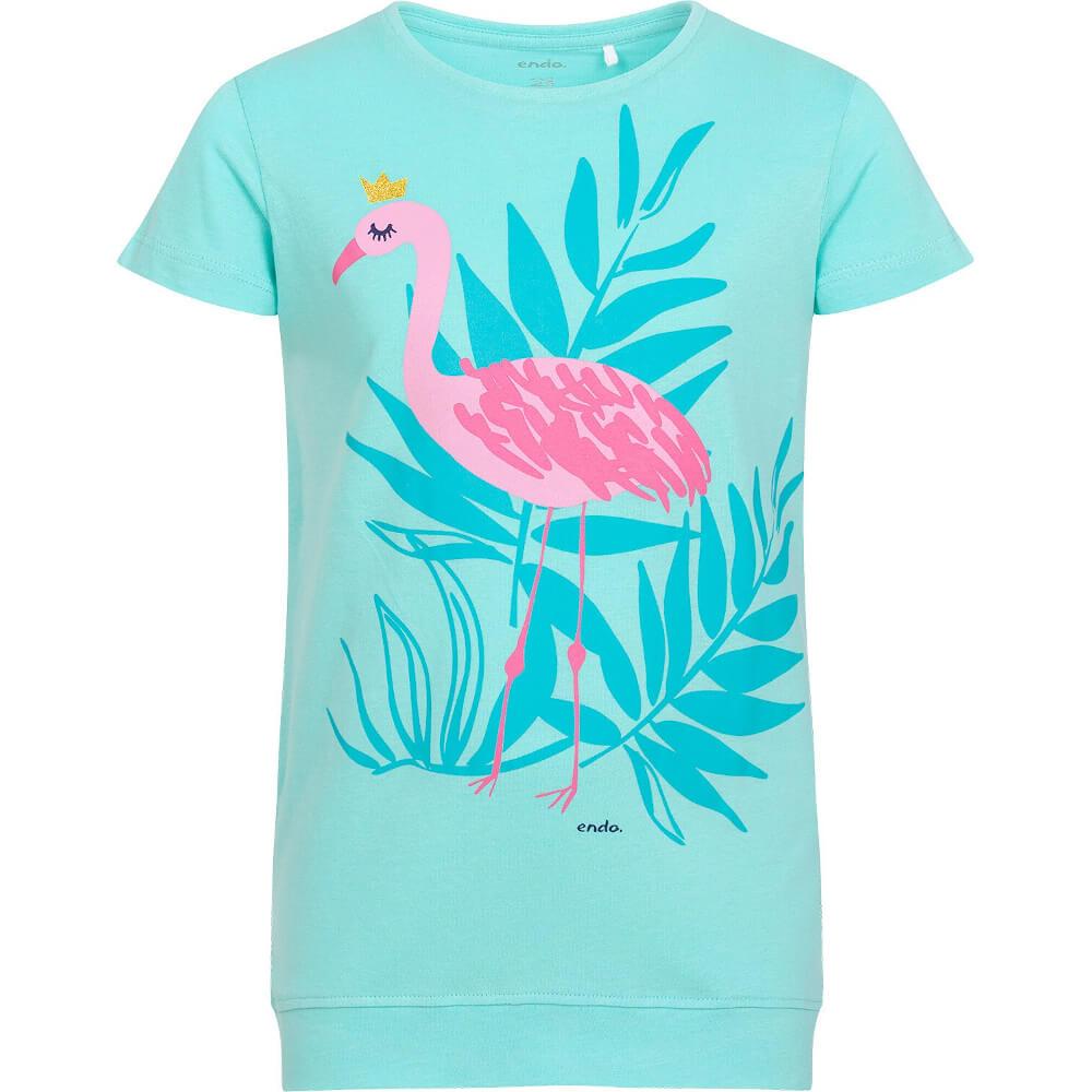 Κοντομάνικη μπλούζα Princess Flamingo