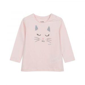 Μπλούζα ροζ Kitty