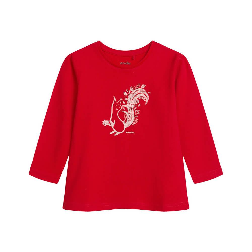 Μπλούζα κόκκινη Squirrel