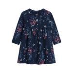 Φόρεμα Blue Flowers Allover