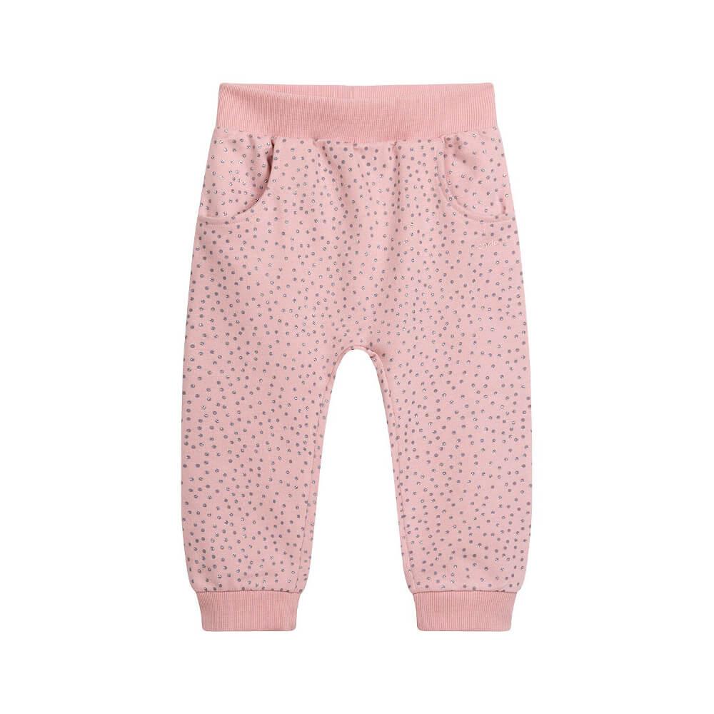 Παντελόνι φούτερ ροζ glitter