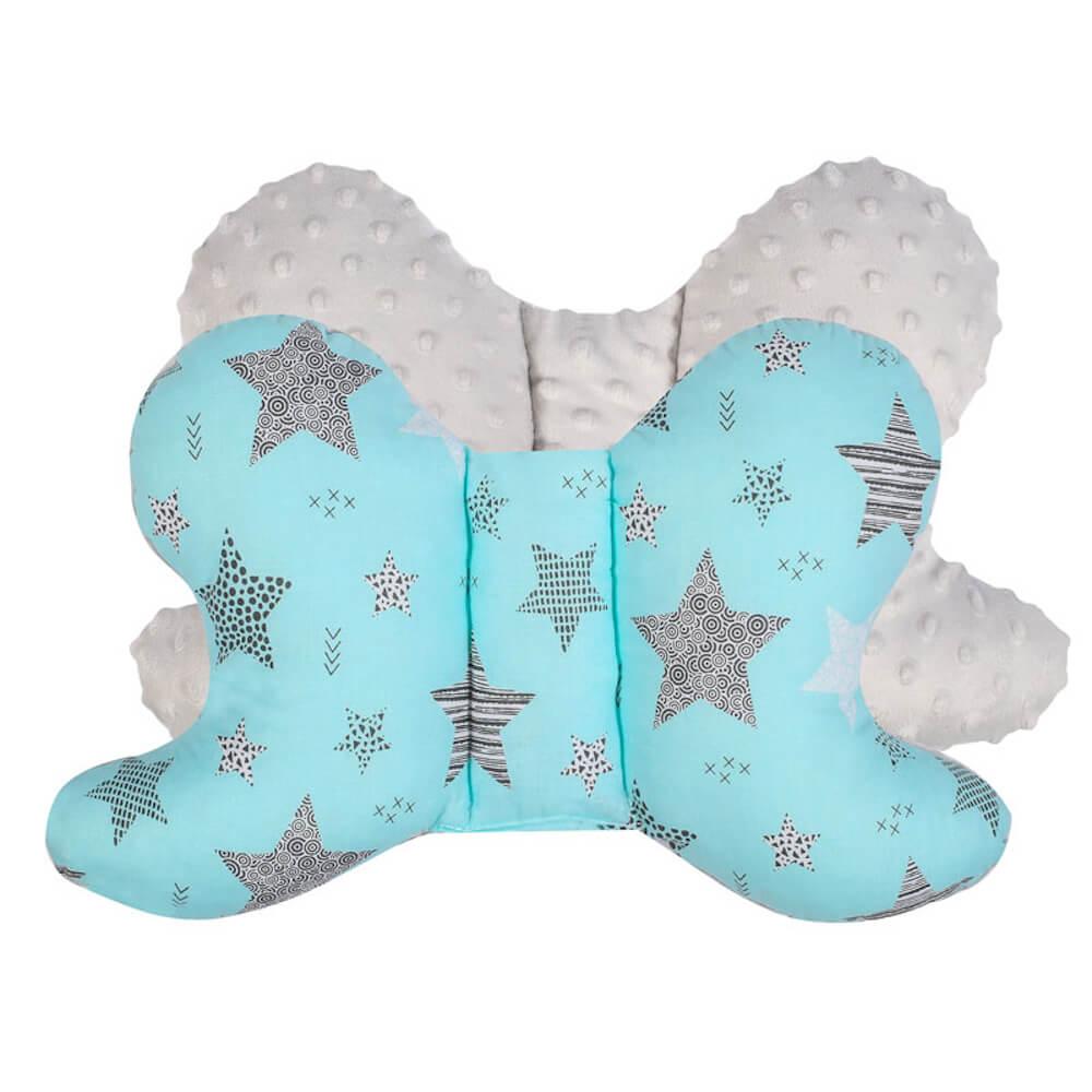 Μαξιλάρι Turquoise Stars, duet baby