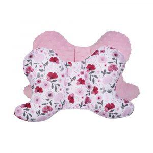 Μαξιλάρι Pink Flowers, duet baby