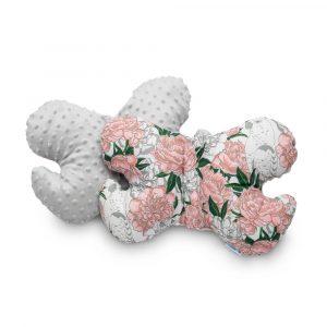 Μαξιλάρι Gray Flowers, sensillo