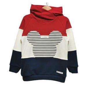Μπλούζα Stripes Red Mouse, Mammamia