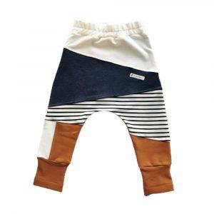 Παντελόνι stripes caramel, Mammamia