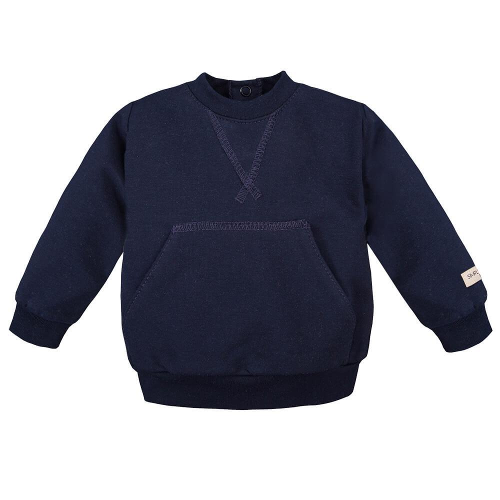 Μπλούζα φούτερ Simply Comfy Blue
