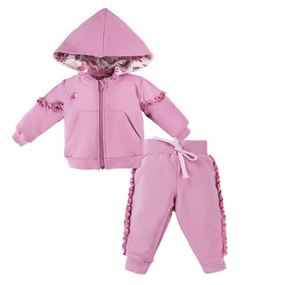 Παιδική αθλητική φόρμα Nature Pink