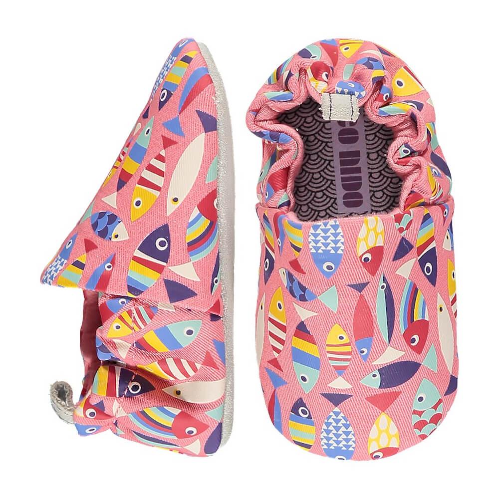 Βρεφικά παπούτσια Rainbow Fish, Poco Nido