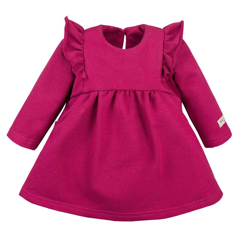 Φόρεμα Simply Comfy Bordo
