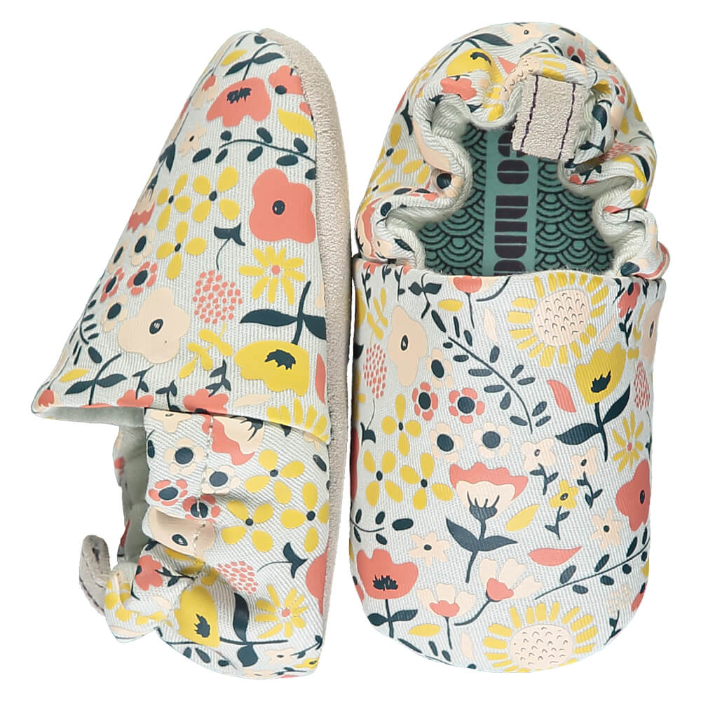 Βρεφικά παπούτσια Wildflowers, Poco Nido